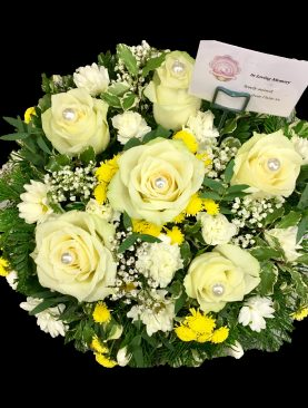 Funeral Loose Cream Posy